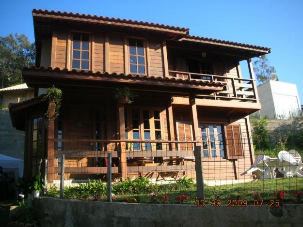 Casas Feitas de Madeira – Fotos casa fashion de madeira