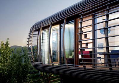 Casas Feitas de Madeira – Fotos casa moderna de madeira