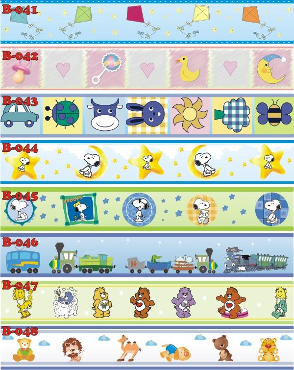 Faixas decorativas para quartos de beb s - Redes de pesca decorativas ...