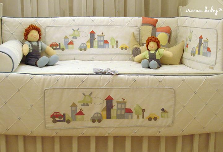 Bonecas de Panos Para Decoração de Quartos de Bebês kit berco completo1