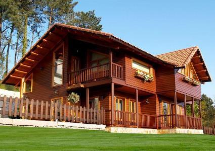 Casas Feitas de Madeira – Fotos planta de casas de madeira