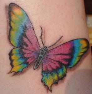 Tatuagens Com Símbolos de Amizades   Fotos tatuagens de fadas borboletas 294x300