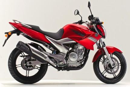 Yamaha   Lançamentos de Motos Modelos 2011 fazerys250 vermelha