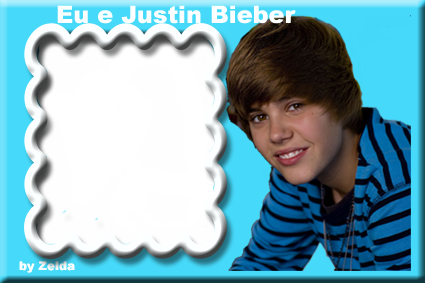 moldura justin bieber