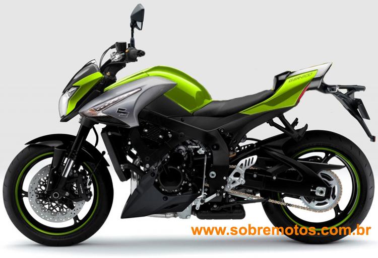 Motos Suzuki  Modelos 2011   Fotos  susuki verde