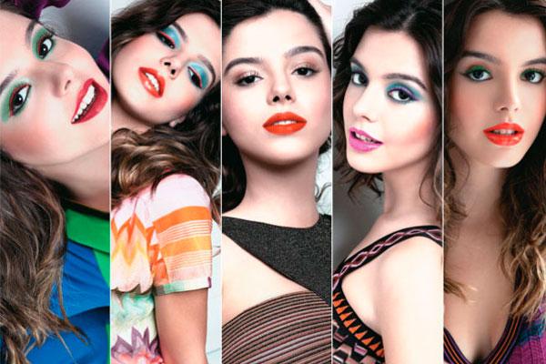 Tendencias maquiagem verao 2012