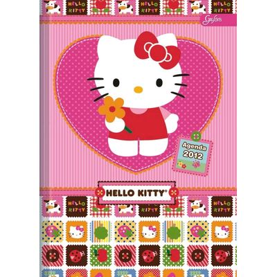 agenda hello kitty 2012