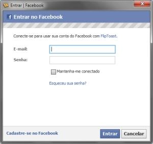 Criar facebook novo