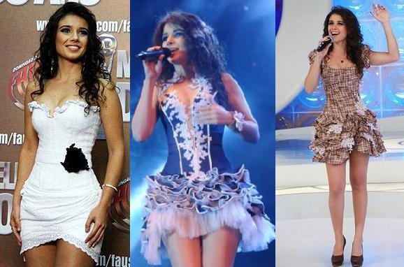 Cantora Paula Fernandes Eleita Mulher sexy Revista Vip  Fotos looks usados pela cantora paula fernandes