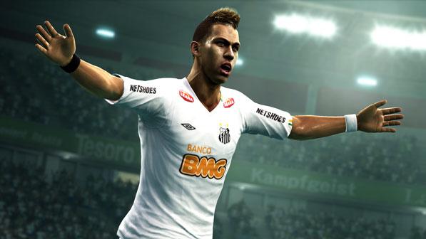 Novo Jogo Pes 2012 com Jogador Neymar – preços