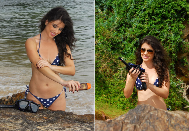 Cantora Paula Fernandes Eleita Mulher sexy Revista Vip  Fotos paula fernandes de biquini na praia