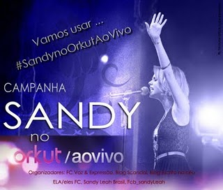 sandy orkut aovivo