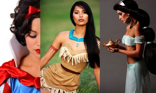 Princesas Disney na Vida Real – Fotos  princesas