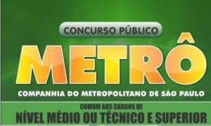 Concurso Metro So Paulo 2012 300x179