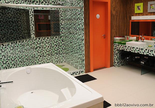banheiro da casa bbb