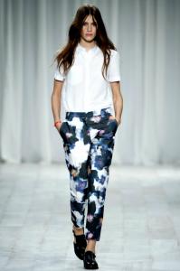 Calças Estampadas Para o Verão 2012   Modelos calça estampada 199x300