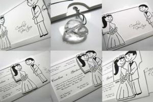 Convites de Casamentos Criativos 2012   Modelos convite casamento 300x201