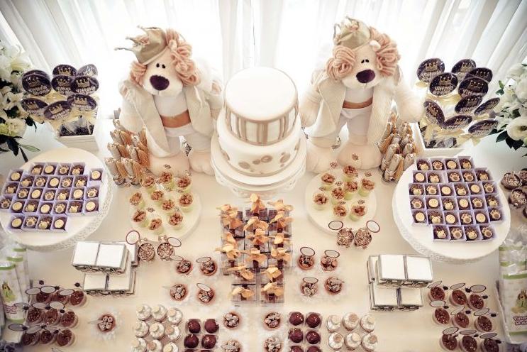 Decoração para Chá de Bebes 2012  Cores,Fotos,Tendências decoraçao chá de bebe marron