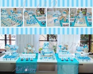 Decoração para Chá de Bebes 2012  Cores,Fotos,Tendências decoraçao cha de bebe azul