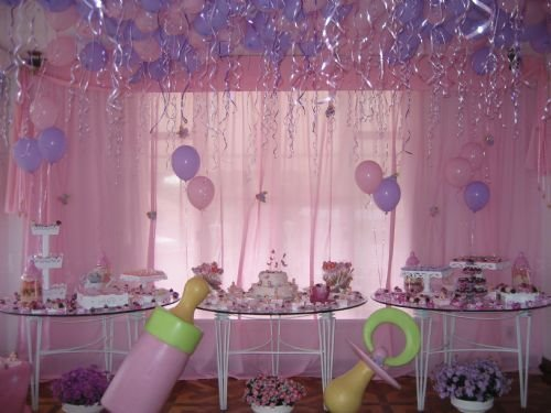 Decoração para Chá de Bebes 2012  Cores,Fotos,Tendências decoraçao cha de bebe para meninas