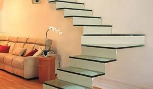 Decoração de Casa Com Escadas   Fotos escada 300x176