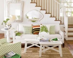 Decoração de Casa Com Escadas   Fotos escada na sala 300x240