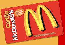 Cartão de Vantagens Mc Donalds   Como Solicitar mccard cartao