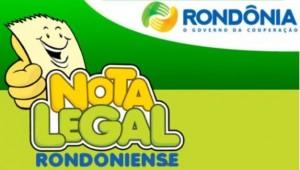Nota Legal Rondônia   Como se Cadastrar, Consultar Sorteio Online nota legal 300x170