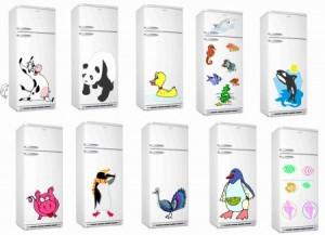 Adesivos Personalizados para Geladeiras – Modelos, Onde Comprar  adesivo p geladeira 4 300x217