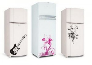 Adesivos Personalizados para Geladeiras – Modelos, Onde Comprar  adesivos de geladeira 300x213