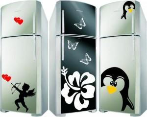 Adesivos Personalizados para Geladeiras – Modelos, Onde Comprar  adesivos fashion para geladeiras 300x239