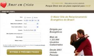 Amor Em Cristo   Site de Relacionamento, Entrar amor em cristo site 300x179