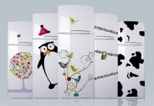 Adesivos Personalizados para Geladeiras – Modelos, Onde Comprar  geladeira decoarada 300x207