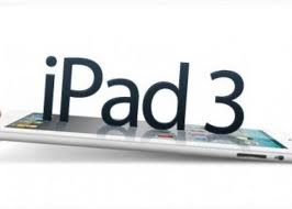 ipad apple 3 lanamento