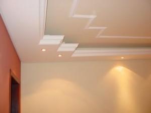 Decoração de Tetos com Gesso   Modelos, Fotos, Tendências teto gesso 300x225