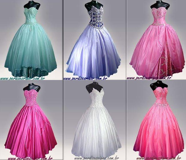 Confira abaixo alguns modelos de vestidos de festa: