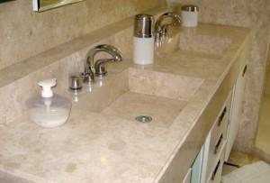 Decoração de Banheiros com Granito   Modelos Banheiros Decorados Com Granito 8 300x203
