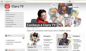 Claro TV Por Assinatura   Assinar Claro TV, Preços e Promoção ClaroTV 300x178