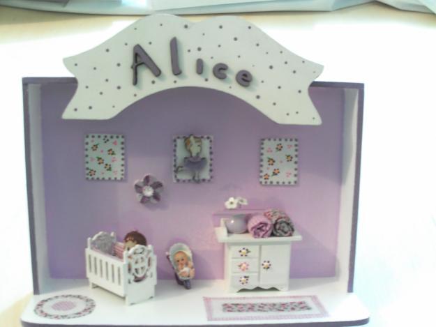 Enfeites para Portas Quartos de Bebês  Dicas, Fotos, Modelos  Enfeite para porta alice