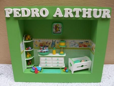 Enfeites para Portas Quartos de Bebês  Dicas, Fotos, Modelos  Enfeite porta arthur