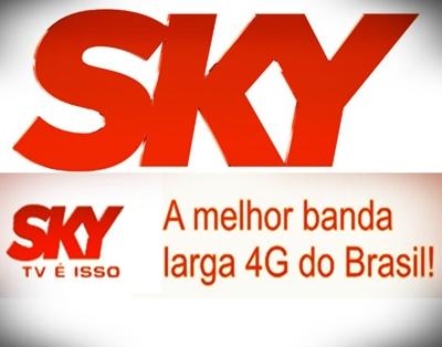 Internet Sky Banda Larga em 4g – Como Funciona, Vantagens, Preços, Pacotes Internet 4G Sky