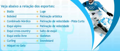 Jogos Olímpicos de Inverno de  2014 em Sochi Rússia – Data, Tabela de Jogos, Site Sem título