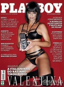 Valentina Francavilla na Capa da Revista Playboy 2012 222x300