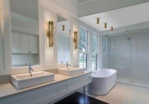 Decoração de Banheiros com Granito   Modelos banheiro com granito 2012 300x210