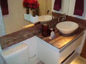 Decoração de Banheiros com Granito   Modelos banheiro granito 300x225