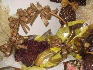 Decoração de Cestas de Ovo de Páscoa   Modelos cestas de ovos de páscoa 300x225