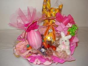 Decoração de Cestas de Ovo de Páscoa   Modelos cestas para ovos de pascoa 300x225