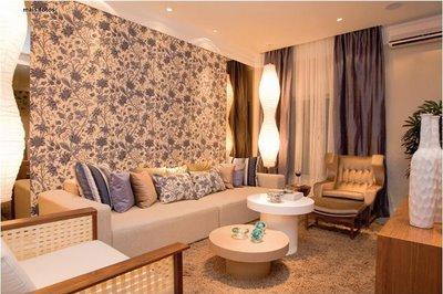 Decoração de Paredes com Tecidos – Dicas,Modelos,Como Decorar decoraçao parede de salas tecidos