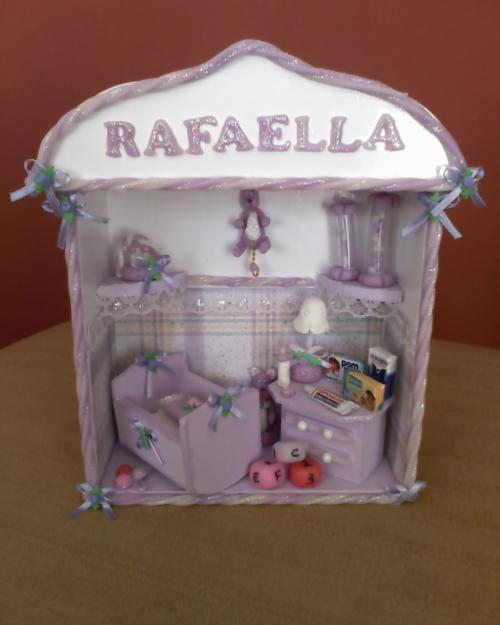 Enfeites para Portas Quartos de Bebês  Dicas, Fotos, Modelos  enfeite de porta rafaela1