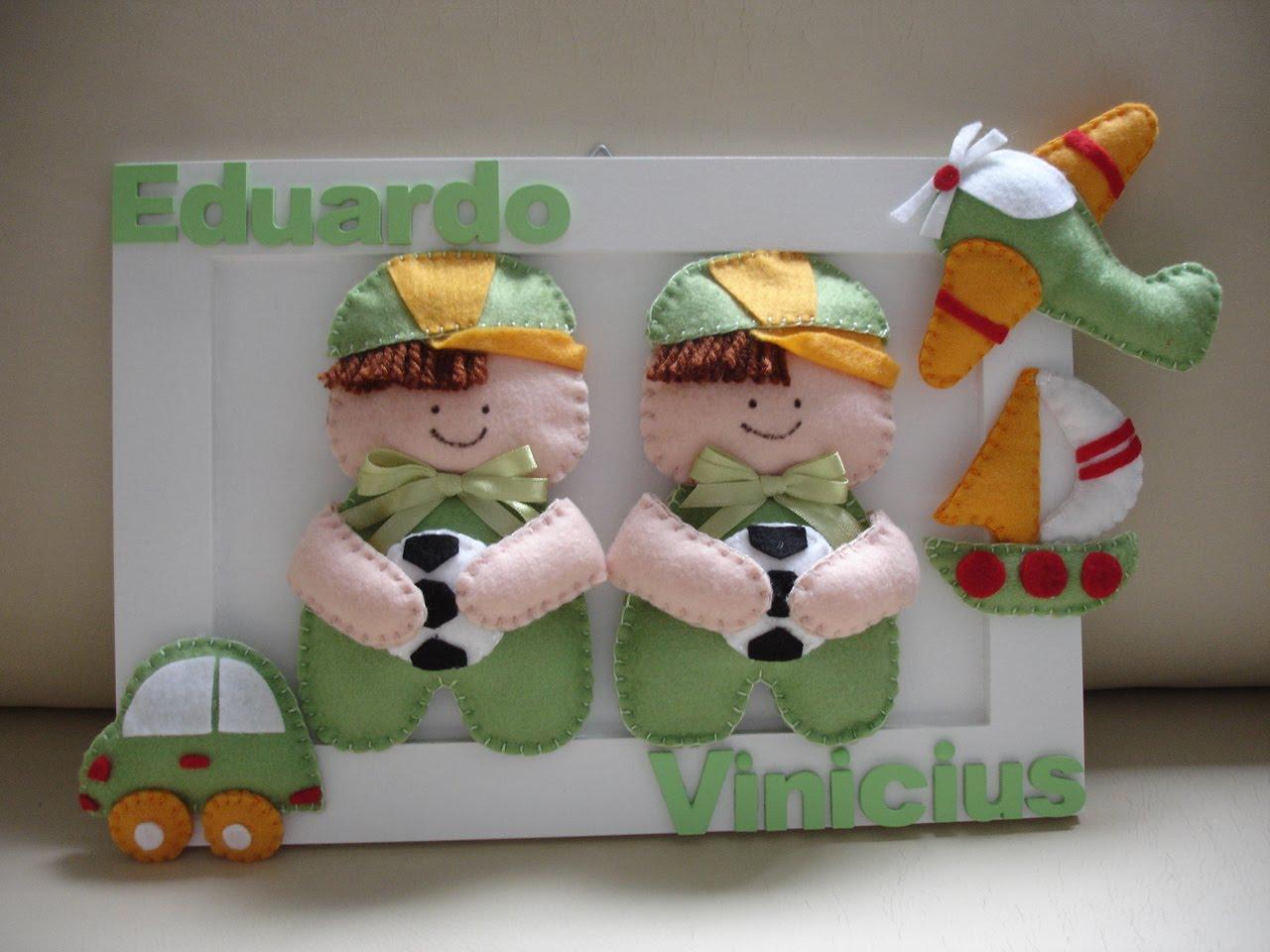 Enfeites para Portas Quartos de Bebês  Dicas, Fotos, Modelos  enfeite porta